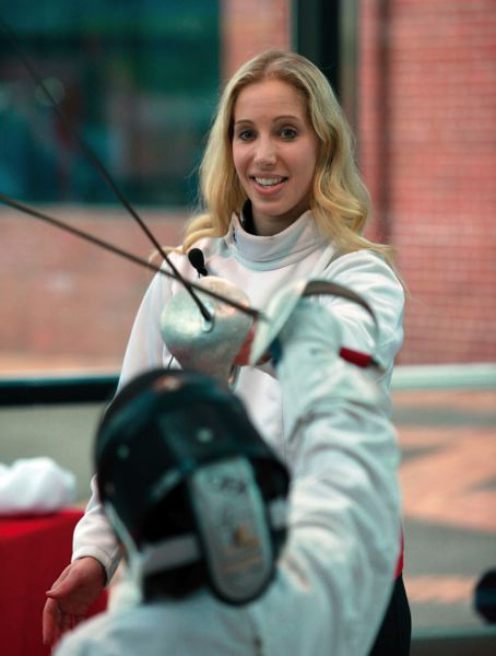 PMG FILE PHOTO: JONATHAN HOUSE - Mariel Zagunis is hoping for a shot at another Olympic gold medal in Tokyo this summer, but not everyone is convinced the Olympics should be held in 2021 at all.