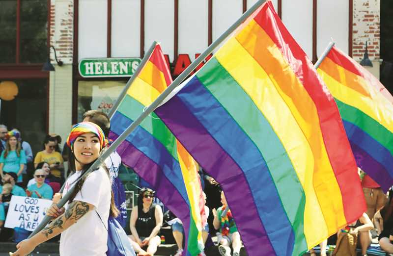 PMG FILE PHOTO - Pride Month will be celebrated throughout Yamhill County as part of Pride Month in the region.