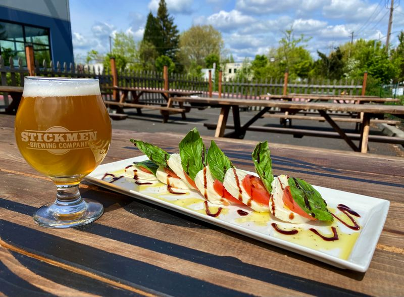 COURTESY PHOTO: STEVE CROSS OF AMBIENT - The two new breweries will offer similar food items like what is pictured here at the Tualatin location.