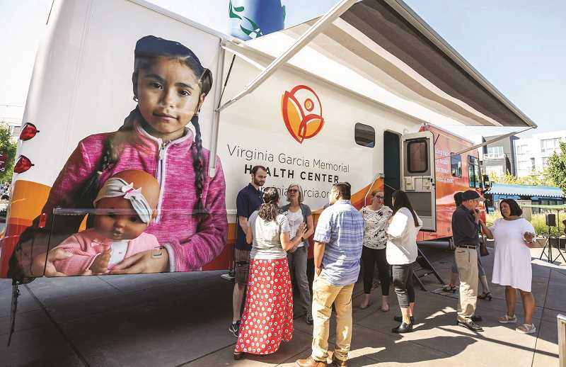 PMG FILE PHOTO - In addition to its brick and mortar locations throughout northwest Oregon, Virginia Garcia holds mobile clinics as well.