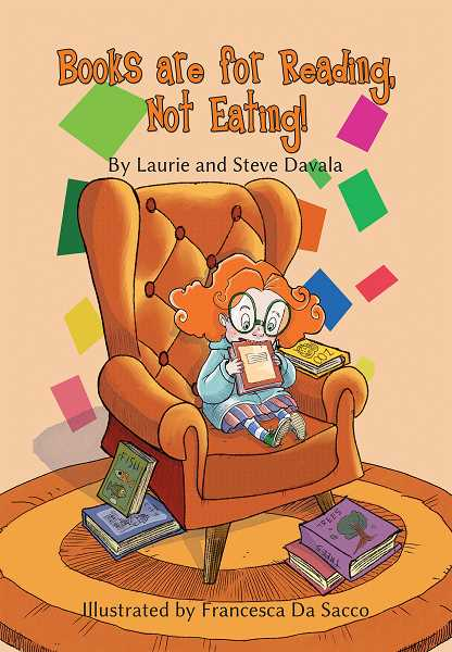 COURTESY PHOTO - 'Books are for Reading, Not Eating' came out May 18.