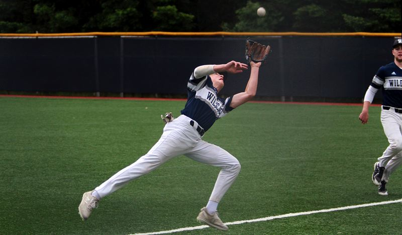 PMG FILE PHOTO: MILES VANCE - Wilsonville second baseman Shane Tacla signed on Wednesday, June 2, to continue his education and baseball career at Chemeketa Community College in Salem.