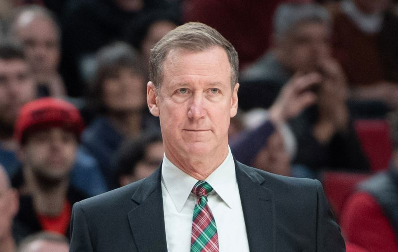 PMG FILE PHOTO: CHRISTOPHER OERTELL - Terry Stotts is no longer the Trail Blazers' coach after nine seasons at the helm. The team announced Friday it will make a change.