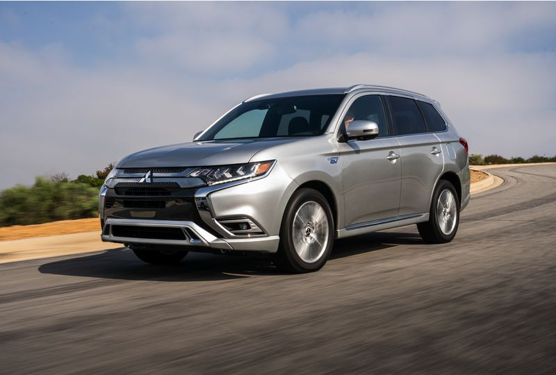 COURTESY MITSUBISHI - The 2021 Mitsubishi Outlander will continue tobe sold until the 2022 version is available.