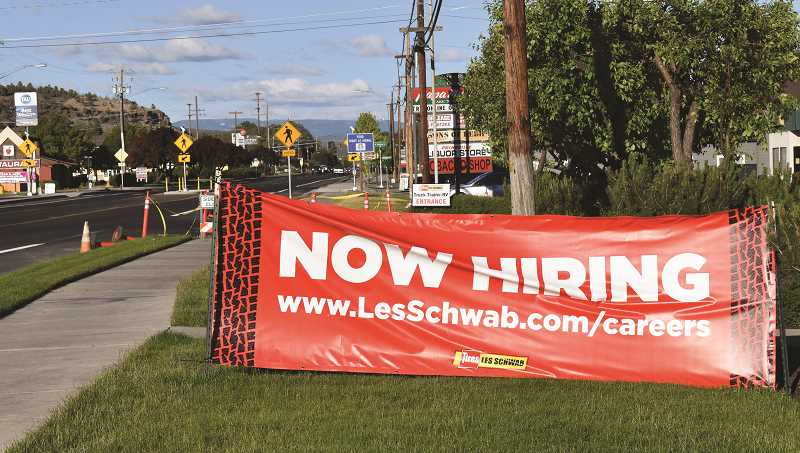 RAMONA MCCALLISTER - Help wanted signs are not difficult to find these days in Prineville as the demand for employees is far exceeding the supply of workers.