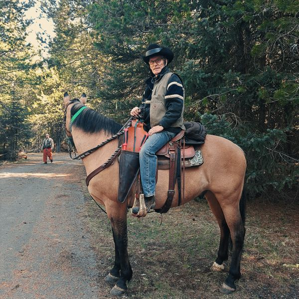 COURTESY PHOTO - The Territorial Riders Back Country Horsemen of Oregon recently completed volunteer work on trails near Timothy Lake.