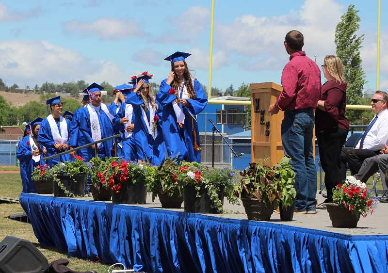 HOLLY SCHOLZ/MADRAS PIONEER - A total of 137 class of 2021 students graduated from Madras High School.