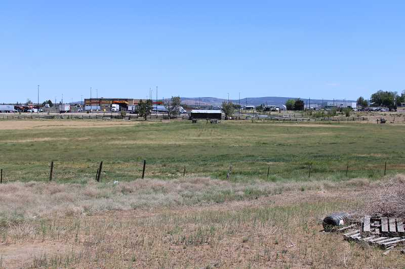 PAT KRUIS/MADRAS PIONEER - Developer Hans Thygeson submitted plans for a new RV park to go west of Love's Travel Stop to the Culver Highway. The plan includes extending Hall Road through to Culver Highway.