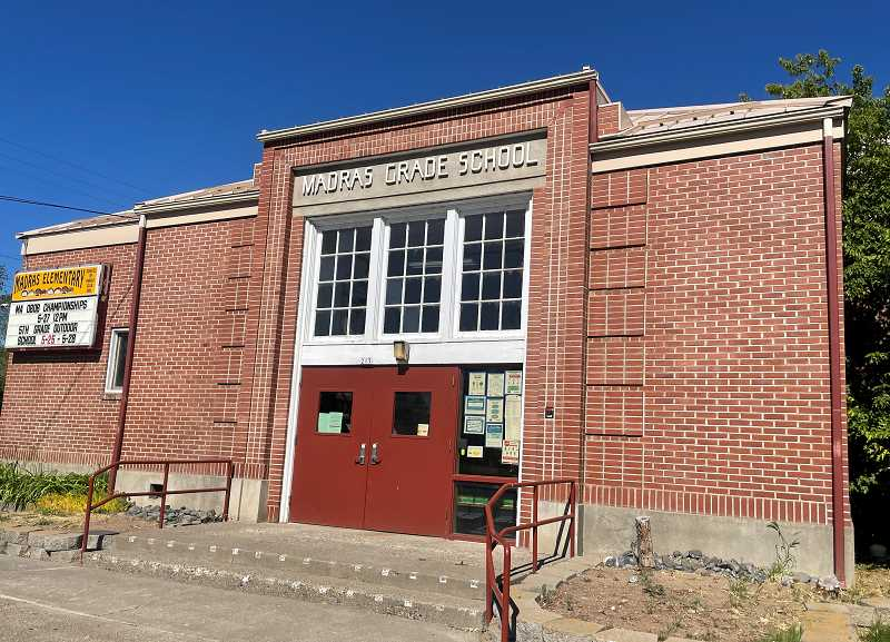 HOLLY SCHOLZ/MADRAS PIONEER  - A seismic rehabilitation project for the gym in Madras Elementary School will begin next spring. Business Oregon gave a grant to Jefferson County School District for the project.