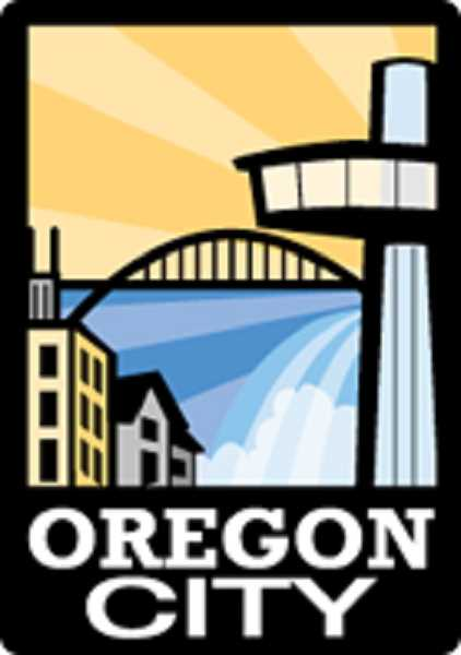 COURTESY GRAPHIC: OREGON CITY - Oregon City may have to update its logo to include a bike ped bridge. In a few years.
