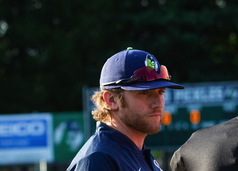 PMG PHOTO: ADAM WICKHAM - Pickles manager Justin Barchus is optimistic that Portland will compete for the West Coast League title in 2021.