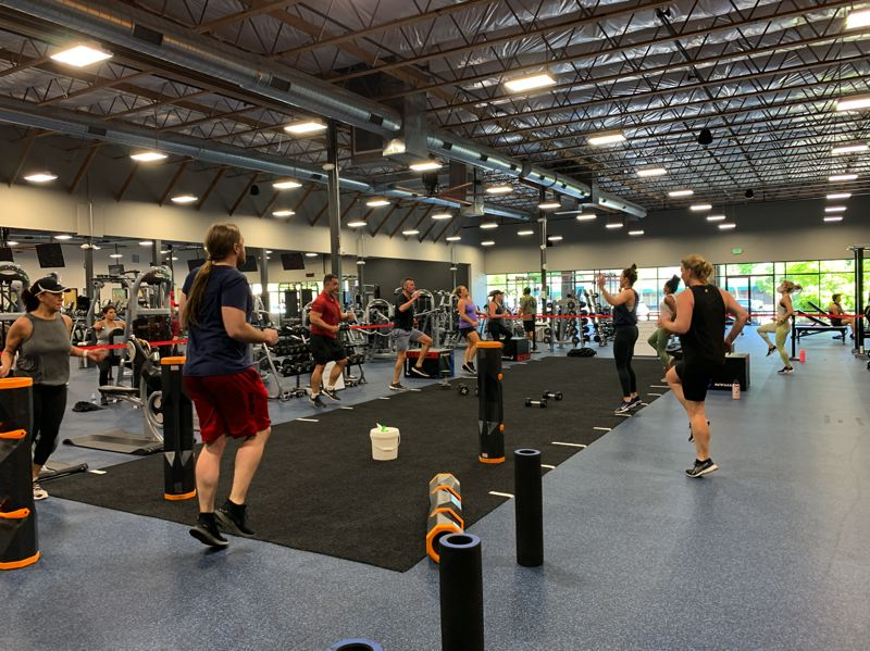 COURTESY PHOTO: ELEMENTS HEALTH CLUB - Small classes make it feel like you have a personal trainer at Elements Health Club in Gresham.