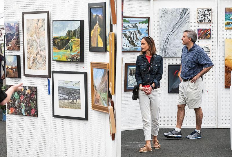 PMG FILE PHOTO - The Lake Oswego Festival of the Arts makes its return to George Rogers Park on June 26-27.