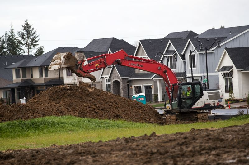 PMG FILE PHOTO - The city of Wilsonville needs to tweak the plan for Frog Pond West, even though the neighborhood is already under construction, to comply with housing legislation. Wilsonville City Council favors adding a 10% middle housing requirement in addition to mandatory changes.