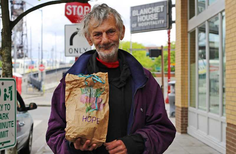 COURTESY PHOTO: JULIE SHOWERS - Positive Charge! PDX is hosting a community-wide event in Tualatin on Sunday, June 13, to decorate and assemble lunch bags to be delivered by Blanchet House to people living on the streets in downtown Portland.