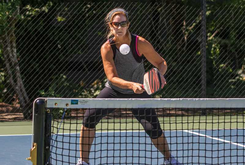 PMG FILE PHOTO - The noise of people playing pickleball at Skyline Ridge Park is apparently causing problems for neighbors living near the park.