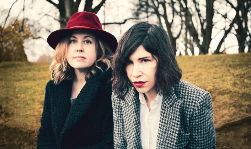 COURTESY PHOTO: KAREN MURPHY - Sleater-Kinney, which includes Corin Tucker (left) and Carrie Brownstein, has a new album.