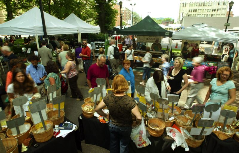 PMG FILE PHOTO - Portland's Farmers Market, and other markets around the region, have benefitted from the Double Up Food Bucks. Oregon lawmakers could extend the program.