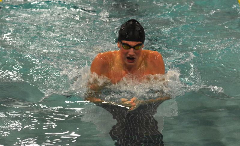 PMG FILE PHOTO - Caspar Corbeau swam for Sunset High School before graduating and taking his talents to the University of Texas at Austin in 2019.