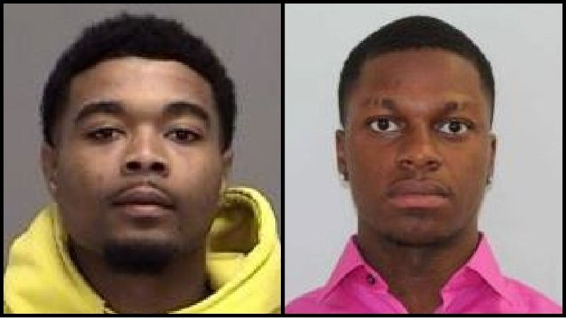 TEXAS DEPARTMENT OF PUBLIC SAFETY - Donavan Keith Lenford, 24 (left),and Eyion Willis, 23, in 2020 photos.