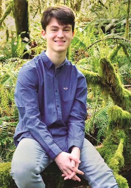 COURTESY PHOTO: WCA - Jon Schenk Jr. graduated from Willamette Connections Academy in June after transitioning from a local private school to pursue technical classes.