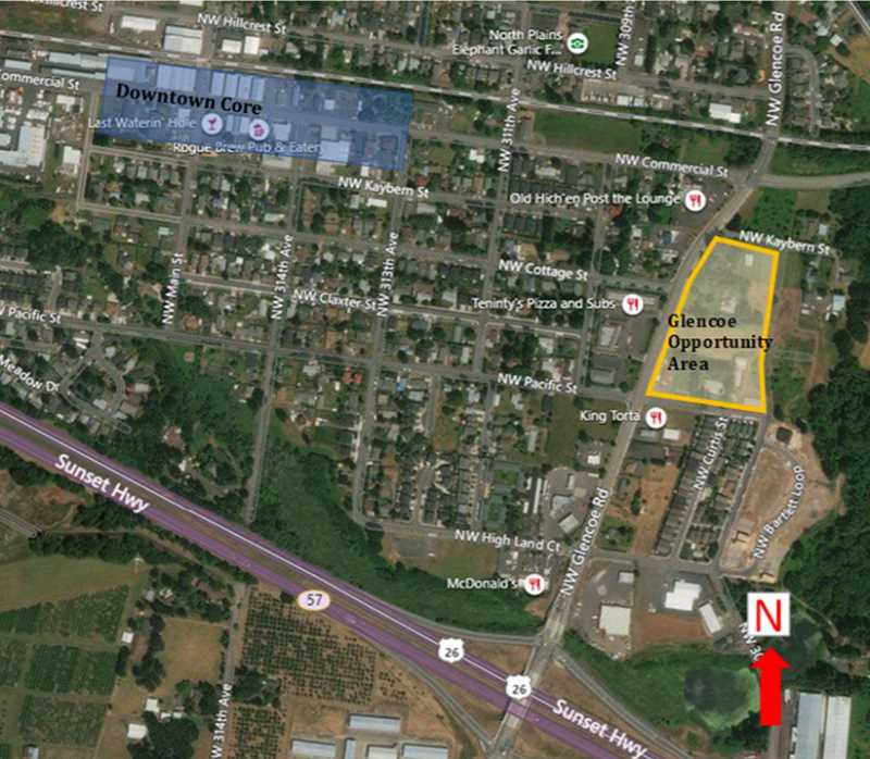 Grocery store anchored center being planned for North Plains
