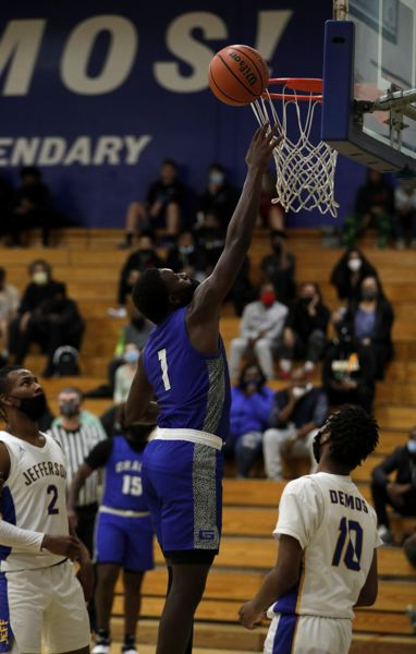 PMG PHOTO: JONATHAN HOUSE - Adrian Mosley and the Grant Generals hope to beat Jefferson this week.