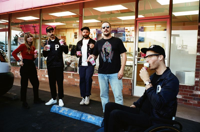 COURTESY PHOTO: MACLAY HERIOT - Portugal The Man, a Portland-based band, hits the road in July. They're celebrating the fourth anniversary of 'Woodstock,' which produced two big hits, 'Feel It Still' and 'Live in the Moment.'