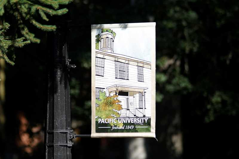 PMG FILE PHOTO - Pacific University in Forest Grove. The school is currently facing two lawsuits stemming from incidents involving former professors.