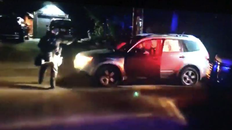 Suit: Portland police slash tires, trap protester with disabilities in car