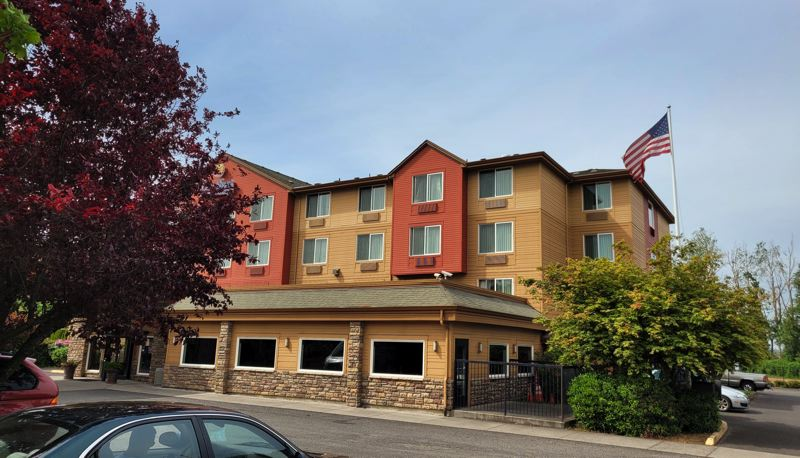 COURTESY PHOTO - A motel in East Portland will be converted into a 70-unit shelter operated by Central City Concern.