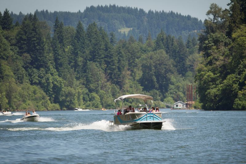 PMG FILE PHOTO - Legislation to limit towed watersports in the Newberg Pool portion of the Willamette River passed through the Senate Rules Committee.