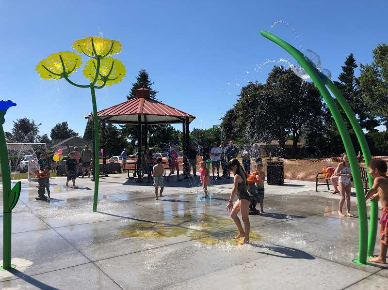 Canby's splash pad is now open