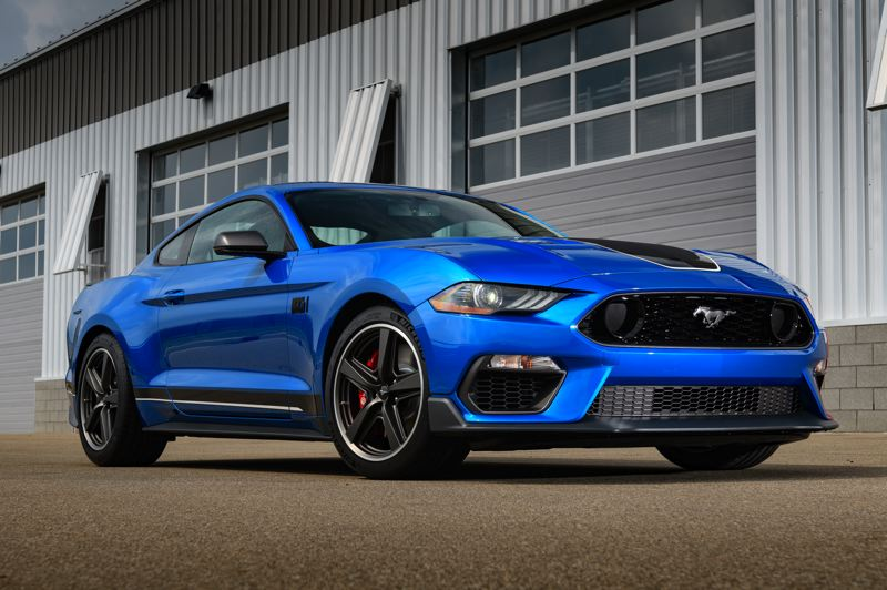 COURTESY FORD MOTOR COMPANY - The 2021 Ford Mustang Mach 1 is styled to look like the 1969 original while allowing the owner to transform it from a daily driver to a serious race car with the flip or two of a switch.