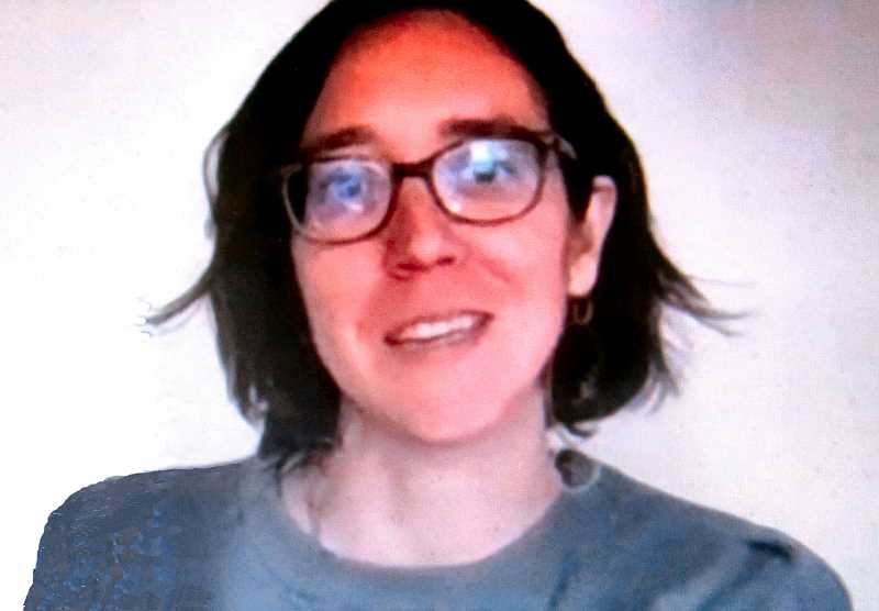 ERIC NORBERG - Heres the Project Manager currently leading Portlands Charter Review Commission, Julia Meier, as she appeared via Zoom at the online meeting of the Southeast Portland Rotary Club last April. She wants to hear what you think Portlands city government needs.