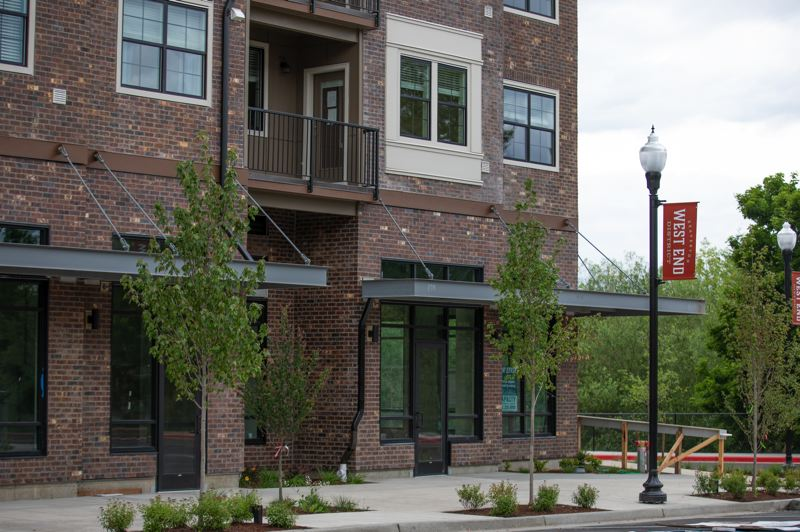 COURTESY PHOTO: C&R REAL ESTATE SERVICES CO. - Twelve buildings are planned in the Beaverton West End District. The first has already been approved for occupancy, with its first residents cleared to move in last week.