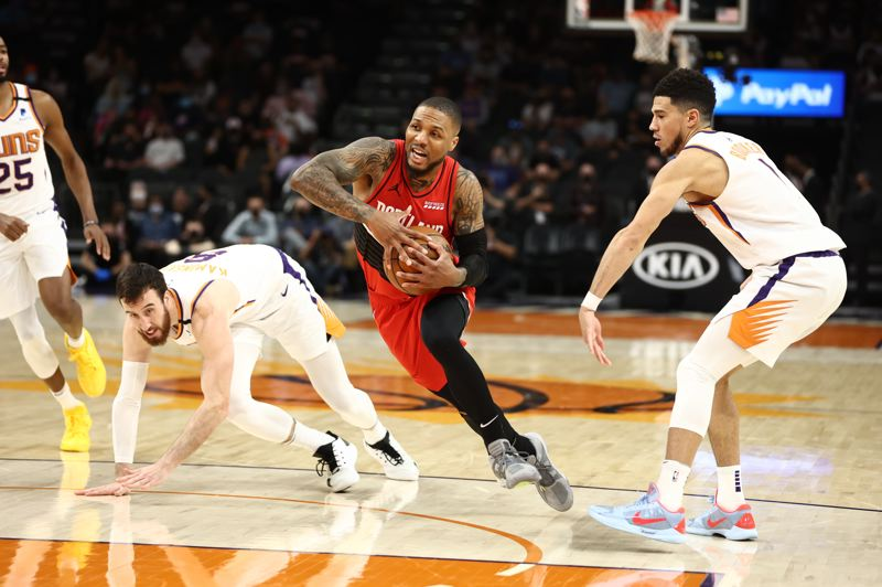 COURTESY PHOTO: BRUCE ELY/TRAIL BLAZERS - Damian Lillard will participate on Team USA and play in his first Olympics in Tokyo. He had a stellar 2020-21 season for the Trail Blazers, despite dealing with various injuries.