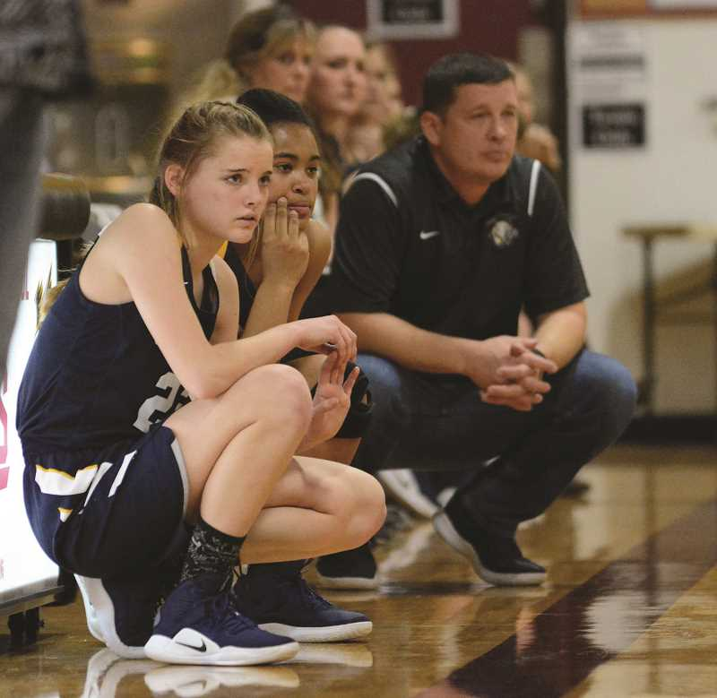 FILE PHOTO - The Country Christiain girls basketball team is competing at the state tournament in Baker City as the No. 2 seed.