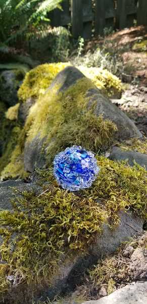 COURTESY PHOTO: CITY OF TUALATIN - This month, Tualatin residents are invited to search for 150 pollinator orbs hidden in city parks and along trails.