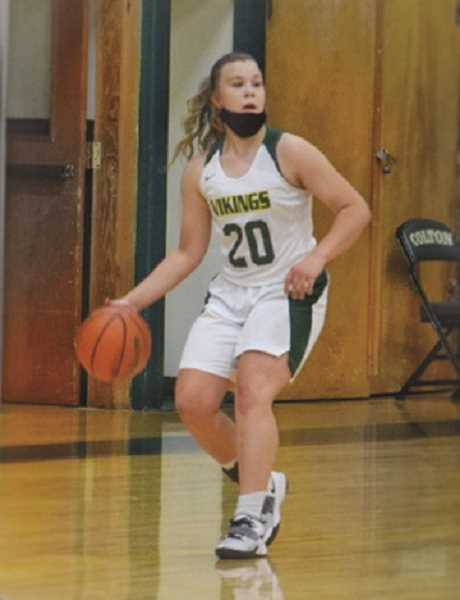 COURTESY PHOTO: VALERIE WAKEFIELD - Avery Reiland was a third-team selection for the Tri-River Conference in 2021