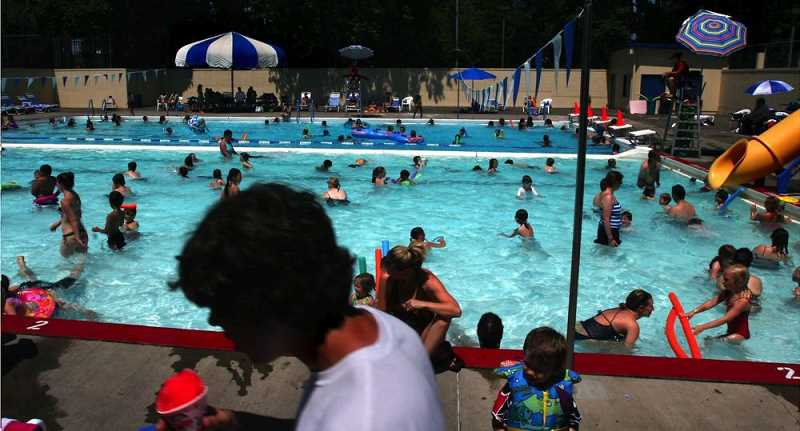 PMG FILE PHOTO - All indoor and outdoor pools in Portland opened Tuesday, June 22, just in time for a dangerous heat wave hitting the region.
