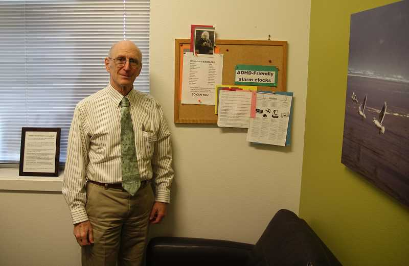PMG PHOTO: JUSTIN MUCH - Woodburn Pediatric Clinic founder Dr. Richard Steinberg retires this year after serving the community for 48 years, including 46 years with his clinic. He has devoted extensive work to helping youth navigate through ADHD challenges, including two of his own children.