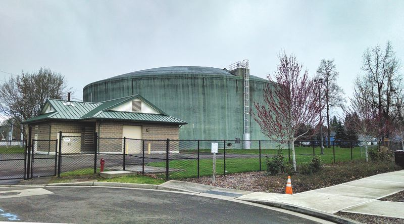 COURTESY: LEAGUE OF OREGON CITIES - The Hillsboro 24th Street Pump Station and Water Reservoir is just one example of water infrastructure that needs continued maintence to operate efficiently.