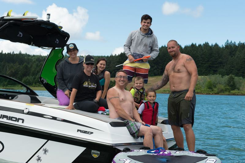 PMG FILE PHOTO - Families enjoy a day on the water at Henry Hagg Lake on June 25, 2018.