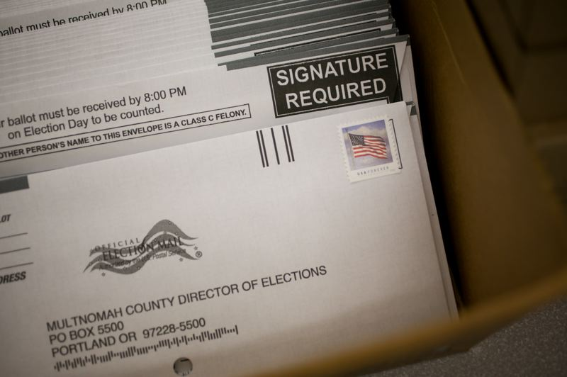 PMG FILE PHOTO - Oregon will join other states by allowing vote-by-mail ballots to be counted if they are postmarked by election day.