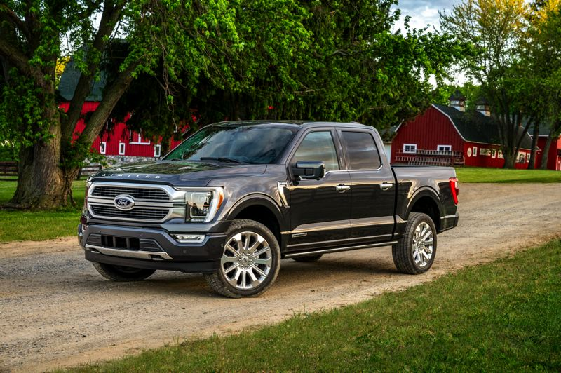COURTESY FORD MOTOR COMPANY - The 2021 Ford F-150 may look similar to last year's version, but it has been completedly redesigned from the ground up and is more competitive than ever before.
