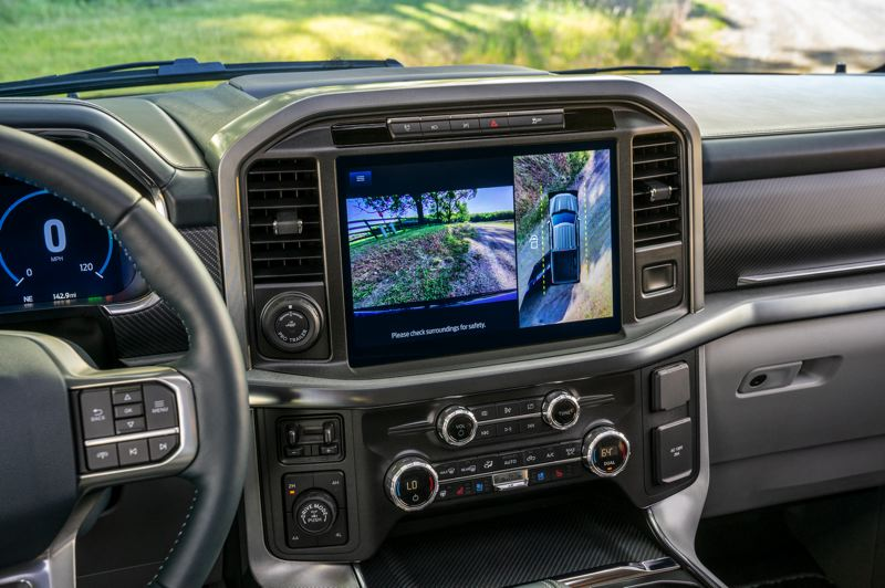 COURTESY FORD MOTOR COMPANY - The new available 12-inch touchscreen in the 2021 Ford F-150 is state of the art.