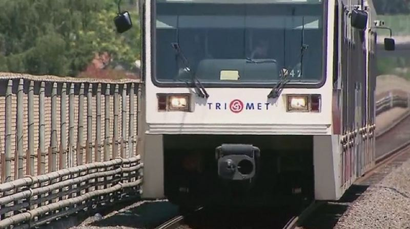 COURTESY KOIN 6 NEWS - MAX and Portland Streetcar service is disrupted because of heat.