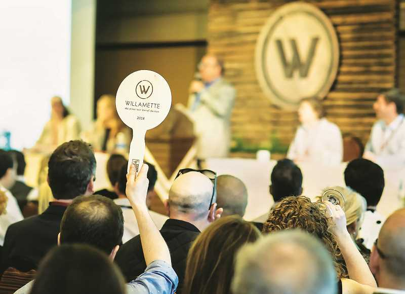 COURTESY PHOTO: WVVA - The Willamette Valley Wineries Association will hold its annual Pinot Noir Auction on Aug. 5 WillaKenzi Estate in Yamhill