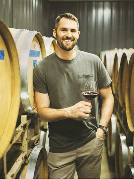 COURTESY PHOTO: CHOSEN FAMILY WINES - Lake Oswego native and NBA veteran Kevin Love announced in June that he'd be joining Newberg-based Chosen Family Wines as a partner.